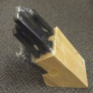 Faberware 15 Piece Wood Butcher Block & Knife Set #5036667