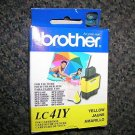 Brother Yellow LC41Y Ink Cartridge UPC:012502611028