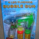 JMK 4 LED Flashing Bubble Gun #08460 UPC: 039593084609