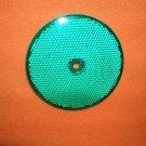 """Stratolite Round Green 3 1/4"""" Reflectors Set 2  #608  UPC:710534479462"""