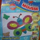 Dollarama Foam Picture Craft Kit - Butterfly UPC:667888092994