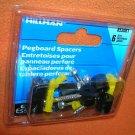 Hillman Zinc Pegboard Spacers   6 Pieces #853061  UPC:008236987492