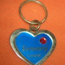 St. Evans Heart / January - Garnet Birthstone Key Chain  UPC:710534484442