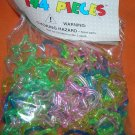 Novelty Inc Plastic Interlocking Hearts & Stars 144 Pieces   UPC:710534484909