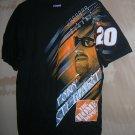 Chase / Nascar Tony Stewart Home Depot Black T-Shirt Size: M UPC:710534485739