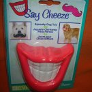 "Say Cheese ""Smiley Mouth"" Squeaky Dog Toy #SQKTYMCL0112 UPC:714415133443"