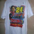 Chase / Nascar Jeff Gordon #24  Red Hot White T-Shirt Size: XL UPC:710534485746