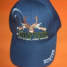 Cap America Navy Live To Hunt / Hunt To Live Baseball Cap UPC:710534483988