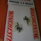 Winchester Official 3D Winchester Decals Set 2 #WDD2117 UPC:846571000915