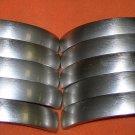 Gustafuson Brush Nickel Drawer Pull Pack 25 #A7133 UPC:710534481038