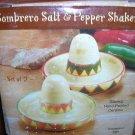 Giftco Inc. Ceramic Sombrero Salt & Pepper Shakers #3082 UPC:047256030825