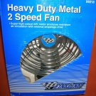 Fine Line Heavy Duty Metal 24V 2 Speed Fan #99218 UPC:044464992181