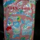 21st Century Orange Flowers Oven Gloves & Apron    UPC:710534483148