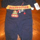 0-3 month boys outfit  by Okie Dokie