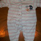 Boys Child Of Mine Sports theme sleeper size small 0-3 month