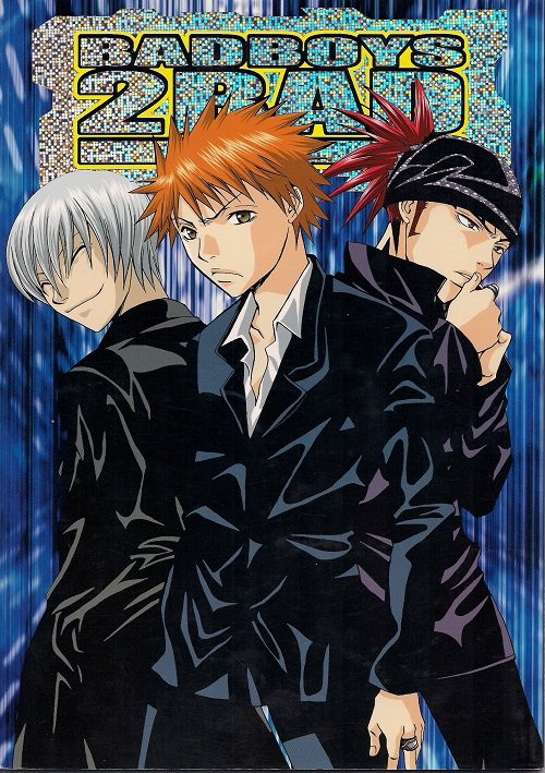 YB23 Bleach Doujinshi Bad Boys 2 Bad by Weekend
