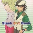 TB15  Tiger & Bunny doujinshi Slash Dot Dash by Airpockts Kotetsu x Barnaby
