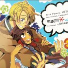 Axis Powers Hetalia Doujinshi YH31 USA x Seychelles Sun!! By Showano + Co.