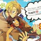 Axis Powers Hetalia Doujinshi YH31 USA x Seychelles Sun!! By Showano + Co.