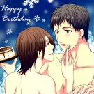 EA7  Adult 18+ Attack on Titan Doujinshi by Suzumone Bertolt x Ymir 48 pages