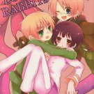 YH35 Hetalia Doujinshi Love!! Rabbits by Kurenai Rio	USA x UK x Japan