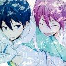 YI77 Free! Iwatobi Swim Club Doujinshi  A day in clear blue by ameameHaruka x Rin