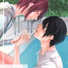 YI2 Free! Iwatobi Swim Club Doujinshi  Greering kiss you by Blue RhapsodyHaruka x Rin