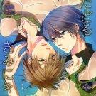 YI7  Free! Iwatobi Swim Club Doujinshi  18+ ADULT Haruka x Makoto Rei x Makoto84 pages