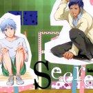 YK42Kuroko no Basuke18+ ADULT Doujinshi Secret by  Kimidori YuuAomine x Kuroko24 pages
