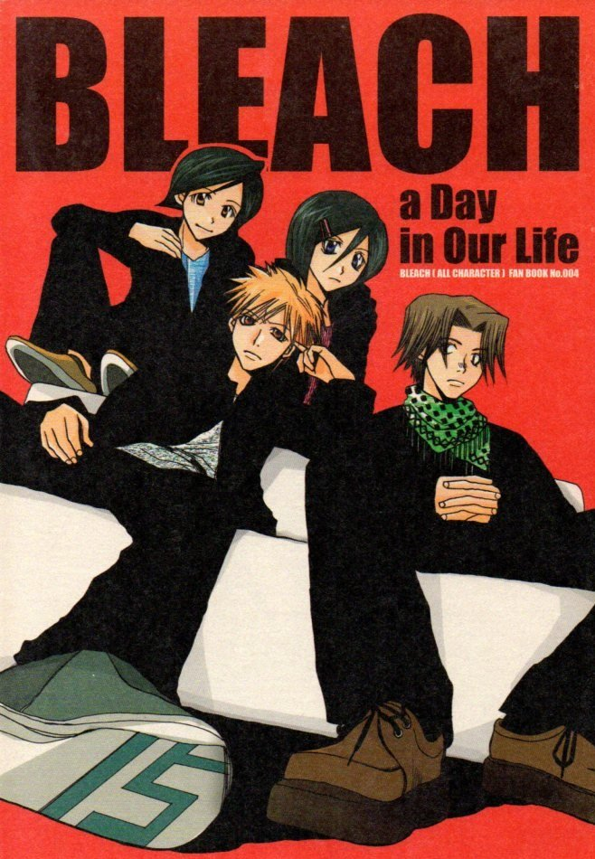 YB10	Bleach	Doujinshi A Day in Our Life	by BYlilycalpop	All Cast	26 pages