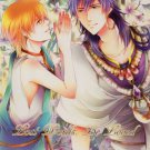 YML49	Magi	R15 Doujinshi Lost Words, Be Loved	by Zigzag yoyo	Sinbad x Alibaba