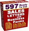 597 Sales Letters and Business Forms
