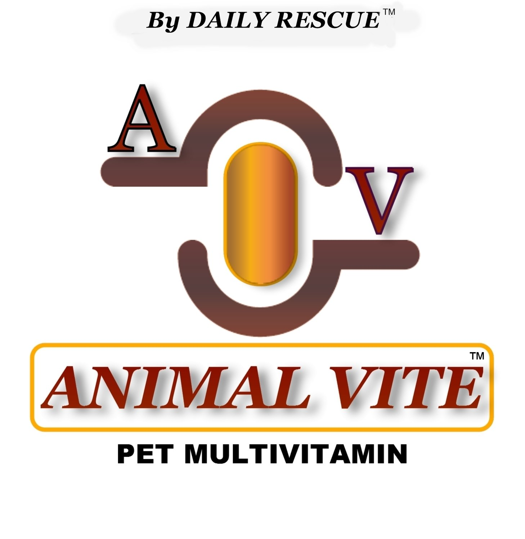 ANIMAL VITE � 2.2 lb Powder - Best / Advanced Pet Multi-Vitamin Supplement for Dogs / Cats