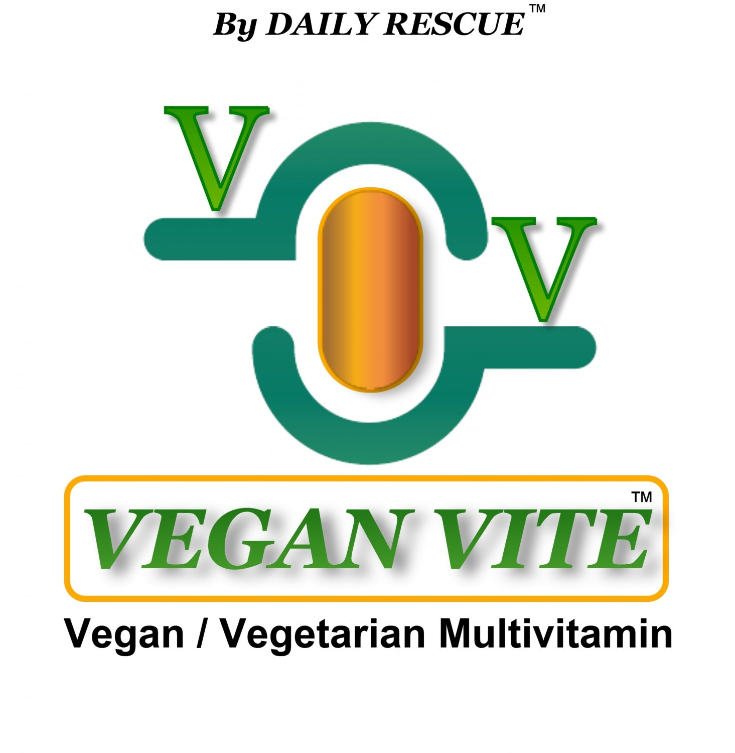 VEGAN VITE � Best / Advanced Vegetarian Multi-Vitamin Supplement for Men & Women