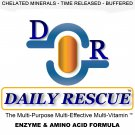 DAILY RESCUE ™ 180ct - Best / Advanced Multivitamin Supplement - Time Release with Enzymes +