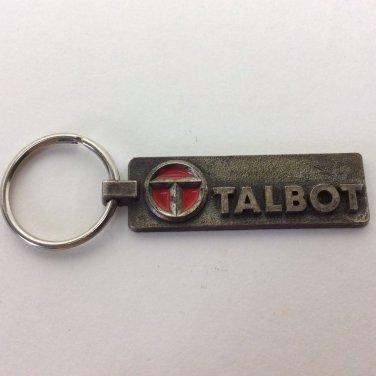 TALBOT AUTOMOBILE KEY CHAIN BEZIERS EXPLOITATION AUTOMOBILES FRANCE
