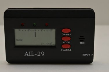 AIL-29 Chromatic Guitar and Bass Tuner