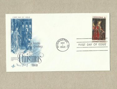 UNITED STATES CHRISTMAS 1968 STAMP FIRST DAY COVER