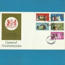 UNITED KINGDOM UK GENERAL ANNIVERSARIES FIRST DAY COVER 1970