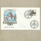 GERMANY WEIHNACHTSMARKE CHRISTMAS FIRST DAY COVER 1984