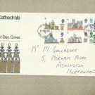 UNITED KINGDOM BRITISH CATHEDRALS FIRST DAY COVER 1969