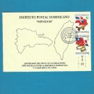 DOMINICAN REPUBLIC CHINA DOMINICAN DIPLOMACY STAMPS FIRST DAY COVER FDC 1999