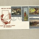 PHILIPPINES POSTAL SERVICE 25 YEARS STAMP AND PHILATELIC DIVISION FIRST DAY COVER 1972