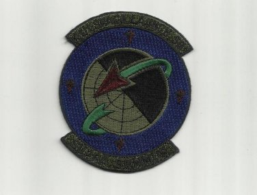 4th SPACE LAUNCH SQUADRON VANDENBERG CALIFORNIA UNIFORM PATCH BADGE