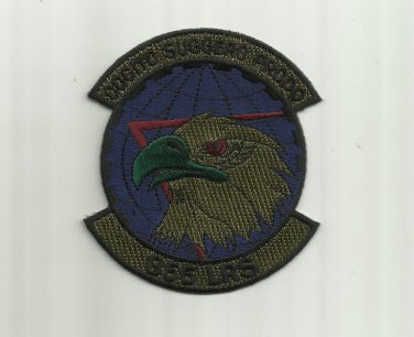 355th LOGISTICS READINESS SQUADRON UNITED STATES UNIFORM PATCH BADGE