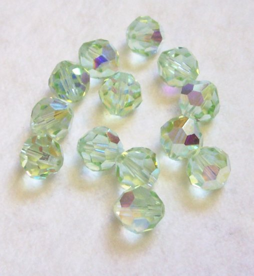 Swarovski AB CRYSOLITE Crystal Beads 8mm