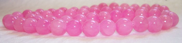 GENUINE Chinese PINK JADE Beads 6mm