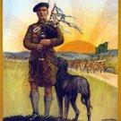 WWI IRISH BRIGADE RECRUITMENT POSTER CANVAS ART PRINT