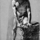VINTAGE MALE NUDE GAY INTEREST 4 CANVAS ART PRINT LARGE
