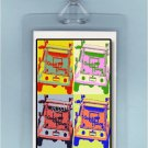 POP ART GOOD HUMOR ICE CREAM TRUCK - 2 LUGGAGE TAGS